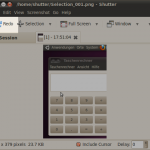 redo last screenshot - shutter